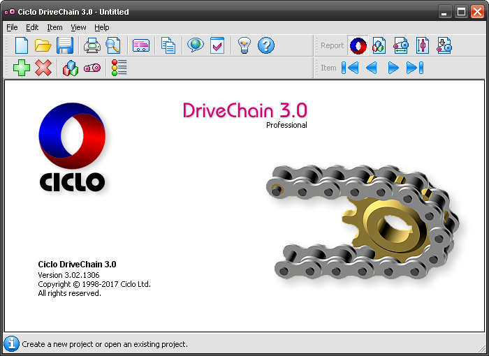 Roller Drive Chain Software - Ciclo DriveChain