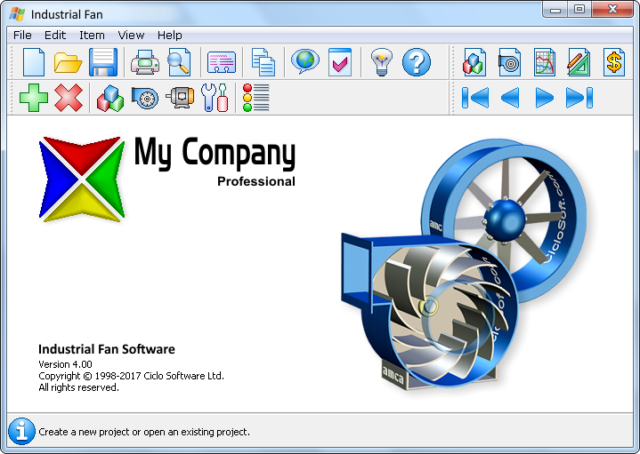 Axial And Centrifugal Fan Software Ciclo Software