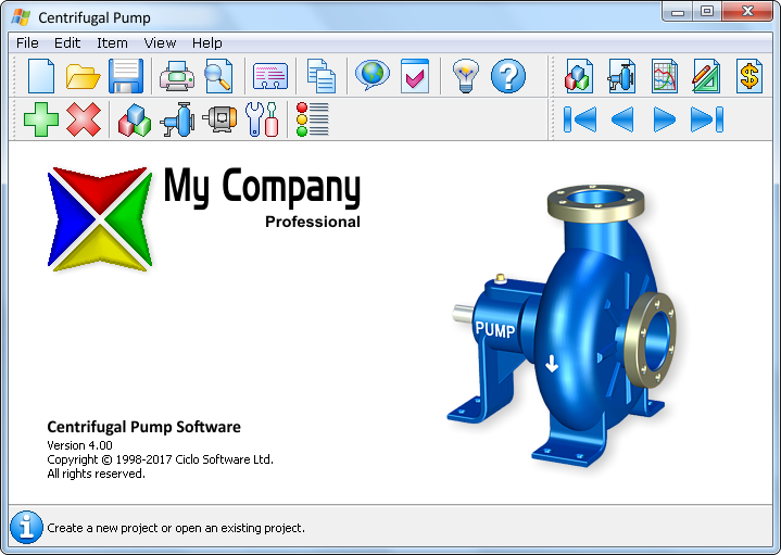 Centrifugal Pump Software - Ciclo Software