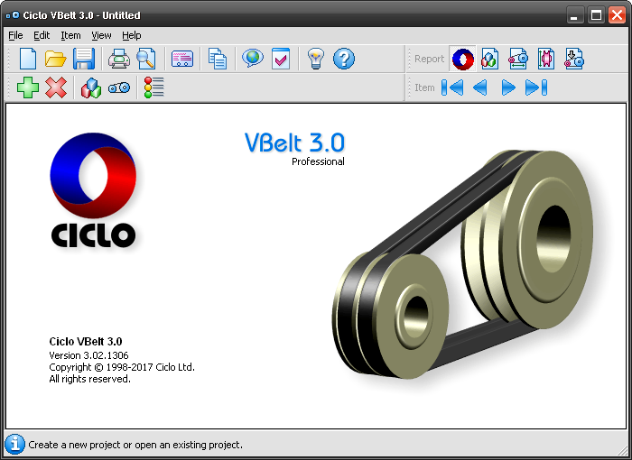 Click to view Ciclo VBelt 3.02 screenshot