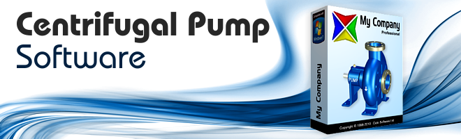Centrifugal Pump Software from CicloSoft